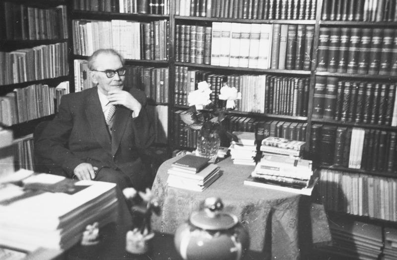 Friedebert Tuglas, aprill 1960